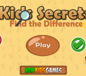 Hra - Kids Secrets Find The Difference