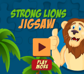 Hra - Strong Lions Jigsaw