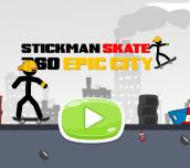 Hra - Stickman Skate 360 Epic City