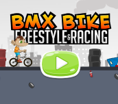 Hra - BMX Bike Fresstyle & Racing