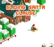 Hra - Sliding Santa Clause