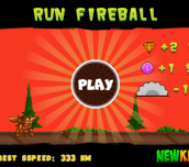 Hra - Run FireBall