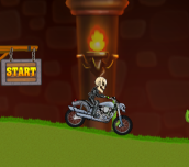 Hra - Motor Bike Hill Racing 2D