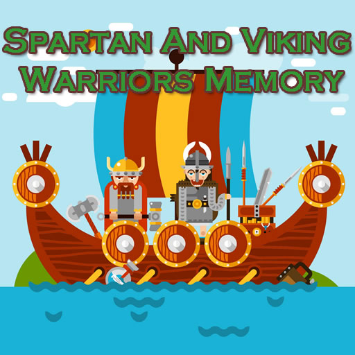 Hra - Spartan and Wiking Warriors Memory