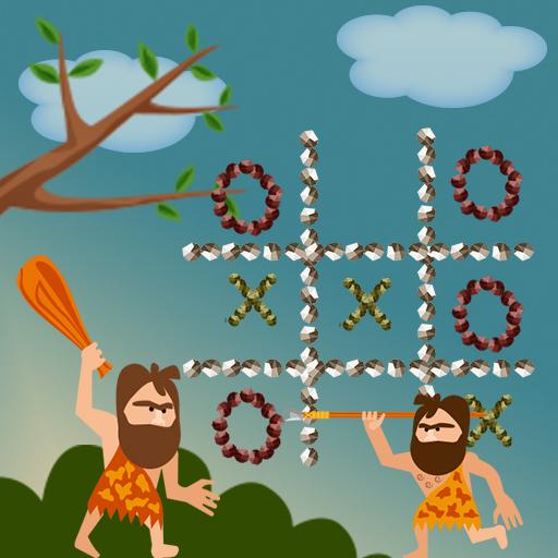 Hra - Tic Tac Toe Stone Age