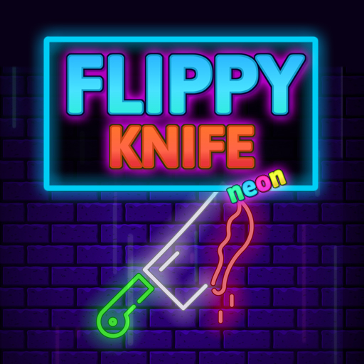Hra - Flippy Knife Neon