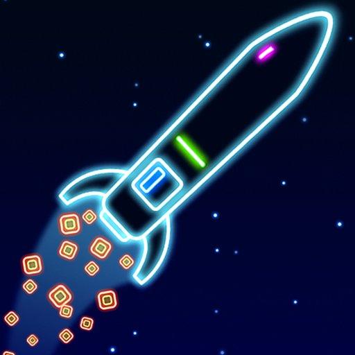 Hra - Neon Rocket