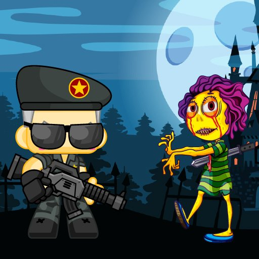 Hra - Zombie Shooter 2D
