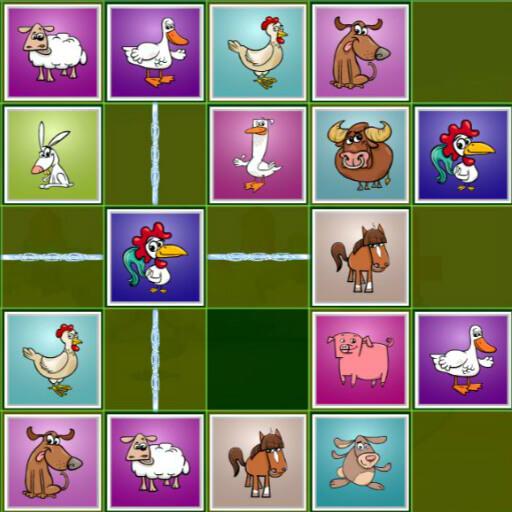 Farm Animal Matching Puzzles
