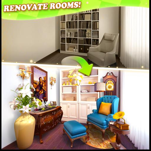 Hra - Home Makeover Hidden Object
