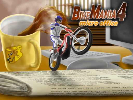 Hra - Bike Mania 4 Micro Office