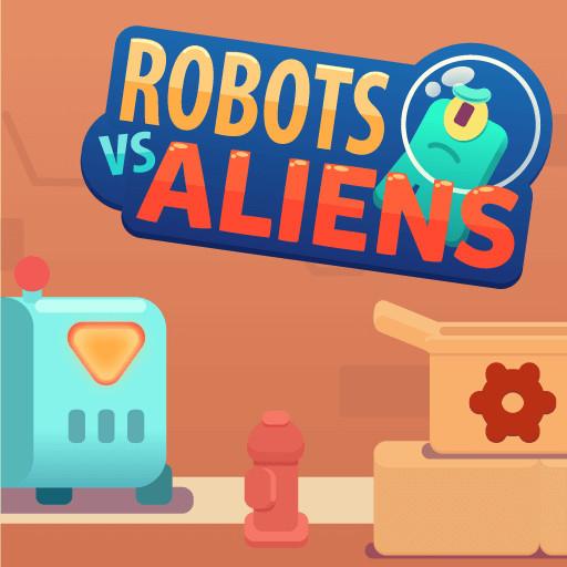 Hra - Robots vs Aliens