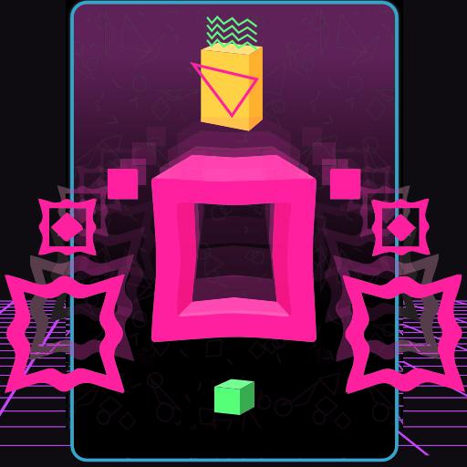 Hra - Big Neon Tower vs Tiny Square