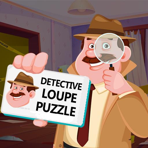 Hra - Detective Loupe Puzzle